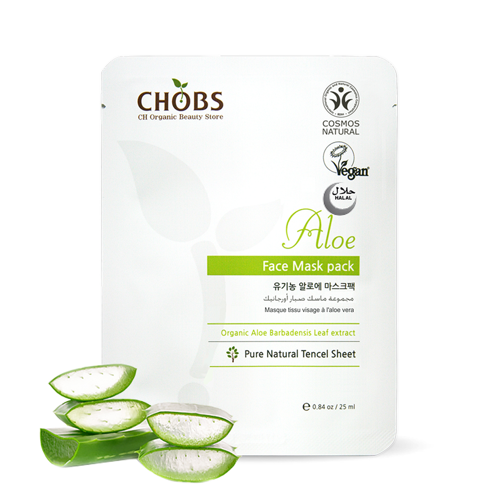 [BDIH]CHOBS(찹스) 알로에 마스크팩 25ml