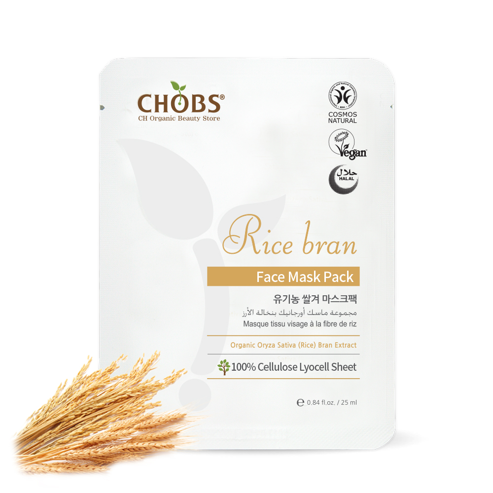 [BDIH]CHOBS(찹스) 쌀겨 마스크팩 25ml