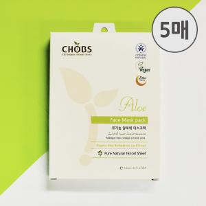 [BDIH] CHOBS(찹스) 알로에 마스크팩 25ml X 5매